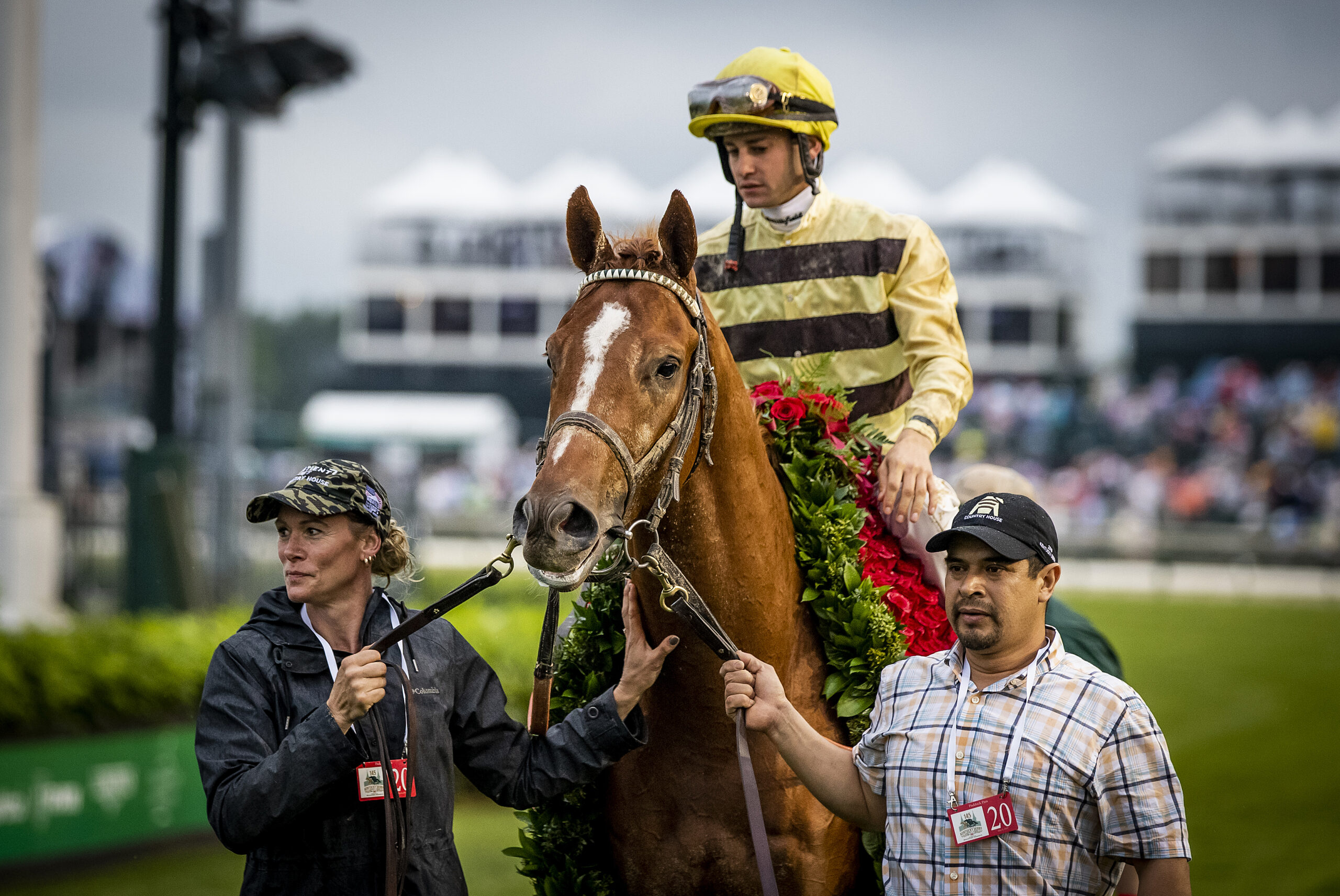 Kentucky Derby winner Country House to stand at Darby Dan Farm